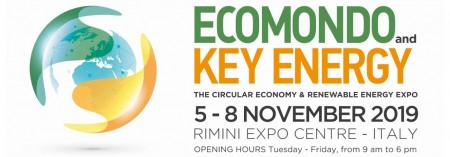 Italian exhibition group: Ecomondo 2019 - business and institutional stage of the green economy