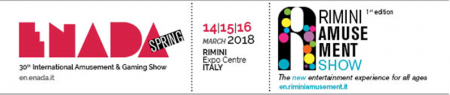 Enada and Rimini Amusement Show 2018:   Ready for it?